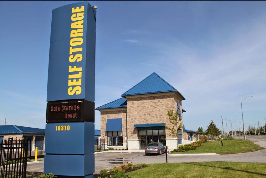 Self Storage Rental In Brampton Safe Storage Depot